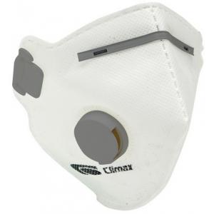 Mascara c/dobras com valvula FFP2 Climax 1720-V, EN 149