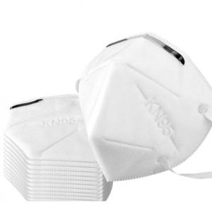Mascara de protecção descartável KN95, sem valvula.