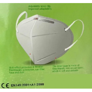 Mascara descartavel KN95 / FFP2 s/ valvula.