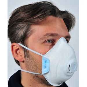 Máscara descartável FFP2 NR D, livre de metais. Emb. 10unids