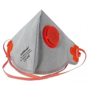 Mascara descartável ZVG FFP2 NR D, carvão activo c/ valvula.
