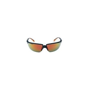 Óculos 3M Solus de sobreposição preto/laranja PC e/ou espelh