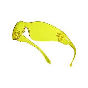 Oculo Policarbonato monobloco Laranja, c/ protecçao lateral