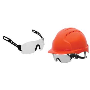 Óculo incolor para Capacetes JSP EVOLite®,EVO3.Seg.EN166.1.F