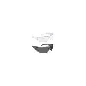 Óculos em policarbonato na opção incolor ou fumado