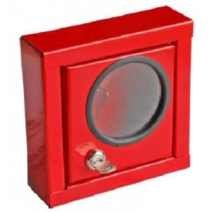 Armário para armazenar chaves c/ porta. Dim: 150x150x60 mm