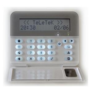 TECLADO REMOTO LCD PARA CENTRAL ECLIPSE