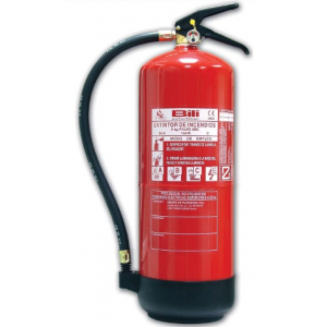 Extintor Pó ABC 40 c/ 9 Kg, eficacia 34 A- 233 B- C