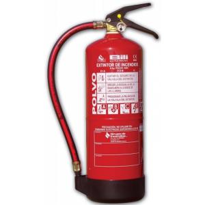 Extintor Pó ABC 80 c/ 6 Kg, eficacia 34 A- 233 B- C