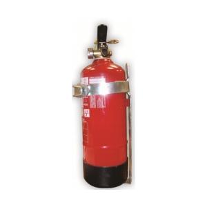 Suporte para extintor de Pó ABC 6Kg para viatura