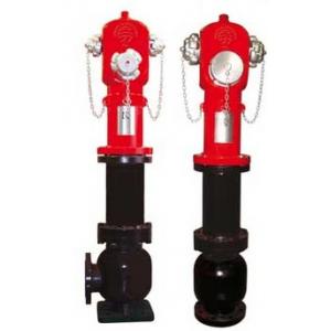"""Hidrante de 3\"""" com saidas 1 x 75 + 2 x 52, curvo ou recto"""