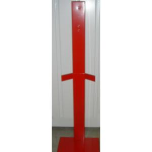 Suporte de Extintor, serve para extintores de 2 a 6 kgs.