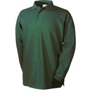 Polo-Shirt em Malha Cardada com 260 grs. (Tipo Sweat-Shirt)