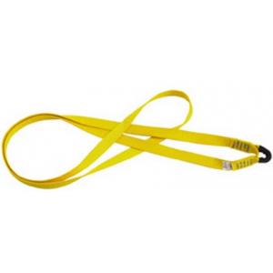 Estropo amarelo c/olhal em cinta textil com 0,80 mts MILLER