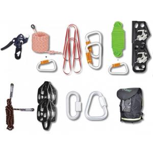 Kit de resgate universal de evacuação manual c/50 mts corda