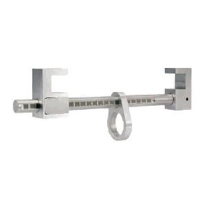Ponto de ancoragem portátil em aluminio para vigas em H