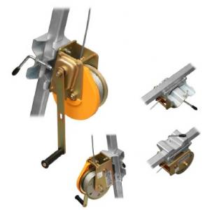 Guincho c/cabo de aço de 25 mts p/tripes espaços confinados