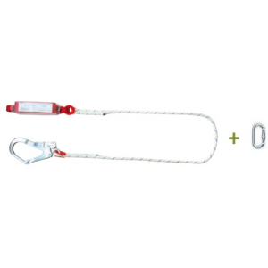 Amortecedor Queda Eco 1,5mts c/ absorvedor energia c/1 mosq