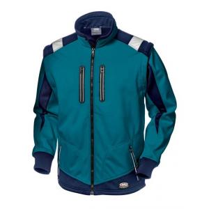 Casaco Softshell Sir Safety Starflex Azul Petroleo/Marinho