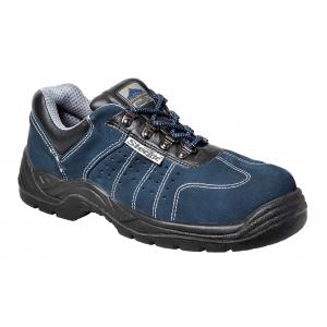 Sapato desportivo perfurado cor azul S1P, EN 20345
