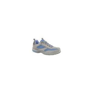Sapato senhora Antibes S1 SRC em croute/nylon Azul/Cinza