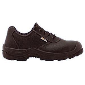 Sapato de cor Preto S1P, Palmilha/ Biqueira Aço.