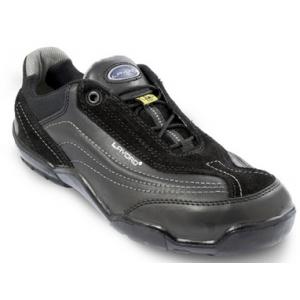 Sapato unisexo preto pele/camurça LAVORO Urban mod.290
