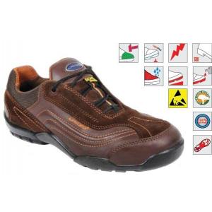 Sapato unisexo castanho pele/camurça LAVORO Urban mod.292
