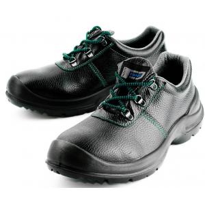 Sapato Panda ref. Monza S3, cor preto em pele.