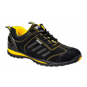 Sapatilha desportiva Lusum S1P amarelo/preto