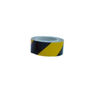 Fita Amarela/Preta autocolante Rolo 33mts * 5cm
