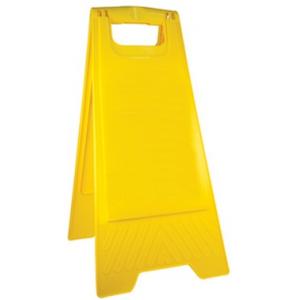 Triangulo amarelo (cavalete) Tam: 23.5*61.5cm