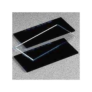 Vidro Escuro p/ Adaptar Mascara Soldar, Dimensão: 110*55