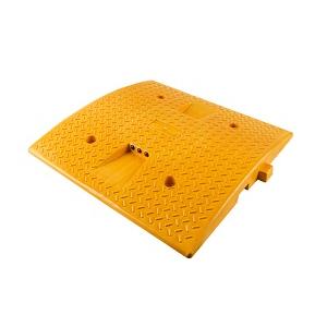 Redutor de velocidade amarelo 500x500x45mm.