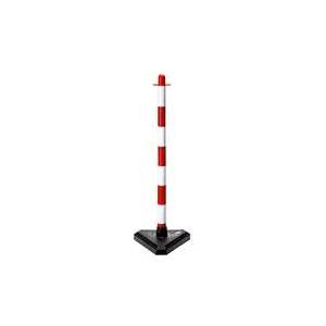 Coluna com base incluida, altura 85cm Vermelha/Branca