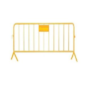 Barreira de protecção pintada, com chapa, 2,00*1,00 mts.