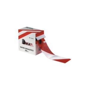 Fita Balizadora Vermelho/Branco 7cm*500m 30 Microns