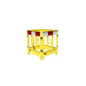 Barreira Quadrilatera (4 paineis de 1,00 m2) Amarelo