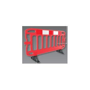 Barreira Protecção em Polietileno 2.00*1.00mt, Cor Vermelho