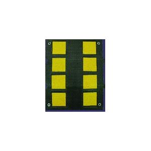 Reductor Velocidade Dimensões:3*47*60 cm, preto/amarelo
