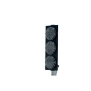 Conjunto de 3 luzes led do semaforo com led (sem suporte).