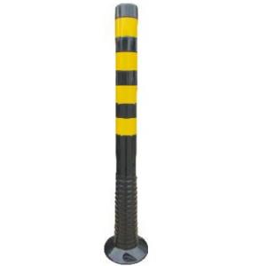 Baliza reversivel reflectora amarela/preto 1000mm alt.x80mm