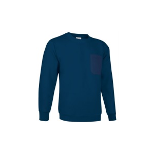Sweatshirt Rango,65% pol., 35% alg. Bolso no peito esquerdo.