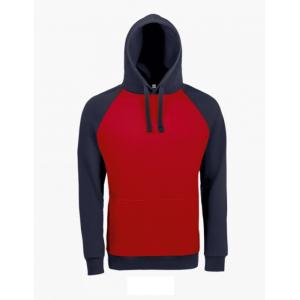 Sweatshirt SEATTLE bicolor c/ capuz, 80% alg. 20% poli. 280g
