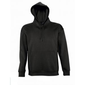 Sweatshirt unissexo c/ capuz. 50% alg. 50% pol. 320grs