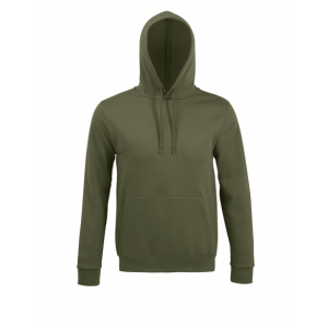 Sweatshirt unissexo c/ capuz. 50% alg. 50% pol. 280grs