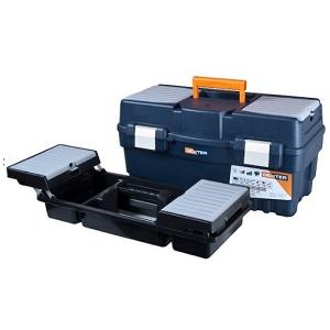 Caixa de ferramentas DEXTER c/bandeja, Dim: 54.7x 27.1x27.8