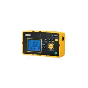 Medidor Terras C. Arnoux CA6424,Kit de terras e electrodos.