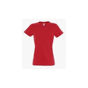 T-shirt m/curta IMPERIAL para senhora,100% algodão, 190g/m2