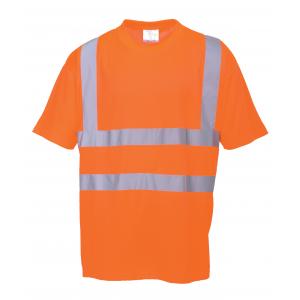 T-Shirt de alta visibilidade Laranja,certificada pela EN 471